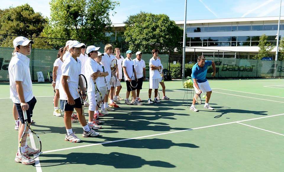 Теннисный лагерь Nike, Англия