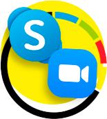 Выбирайте сами Skype или Zoom