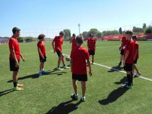 Летний лагерь Atlético de Madrid, футбол + испанский/английский