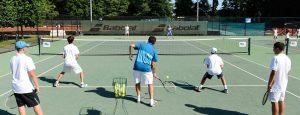 Nike, теннисный лагерь в Eton College, Лондон