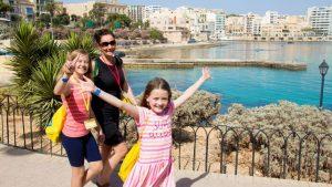 IH, семейный курс на Мальту