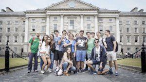 Школа ECI, лагерь для подростков, город Дублин