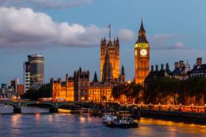 Тур для преподавателей английского языка, Лондон