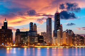 Kaplan, Чикаго